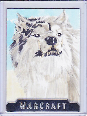 Warcraft Movie Sketch Trading Card Selection