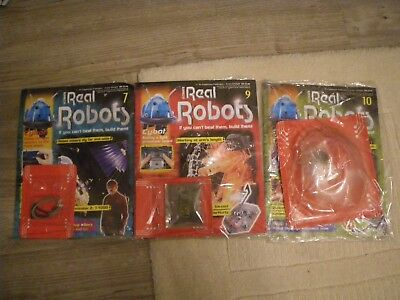 Vintage 2001 Ultimate Real Robot Magazine Issues 7; 9 and 10.  Unopened.