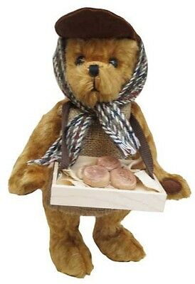 "Merrythought England  ""The Muffin Man"" Teddy Bear Mohair Limited Edition NEW"
