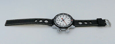 Heuer Game Master Ref. 502.050 Grosse Armband Stoppuhr Stopwatch Tag Rallye