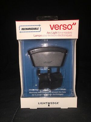 Brand New Verso Rechargeable Arc Light Lightwedge for E-readers