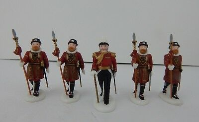 Dept 56 Dickens Village Yeomen Of The Guard #58397 Good Condition