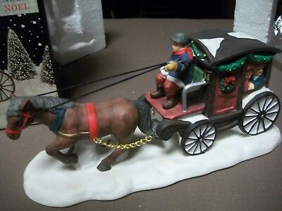 "Victorian Village Collectables - ""old Towne Carriage"""