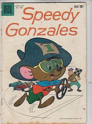 Dell Four color #1084 SPEEDY GONZALES 1960 G