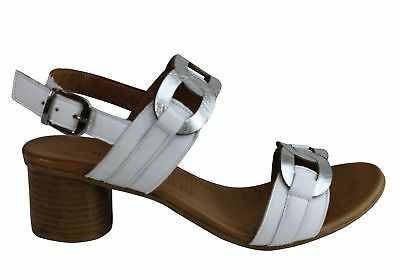 442da9bd1426 ORIZONTE KIRSTY WOMENS European Comfortable Leather Mid Heel Sandals ...