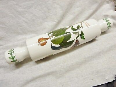 beautiful portmeirion rolling pin china butterfly fauna pictures botanic garden