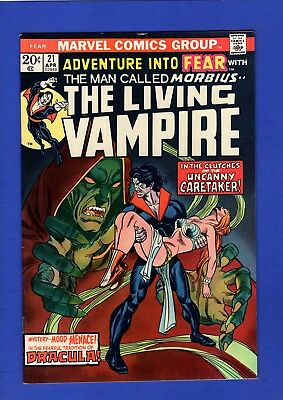 Adventure Into Fear #21 Nm- 9.2 Glossy High Grade Bronze Age Early Morbius