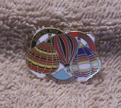 Anything Goes Ol'dawg & Roja Caliente Balloon Pin