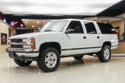 1994 Chevrolet Suburban 4X4 30k Actual Mile Suburban 4X4! GM 5.7L V8, Automatic, 2 Owners, Clean History!