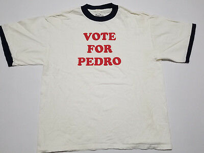 Vote For Pedro L Men's T-Shirt White, Napoleon Dynamite, Movie