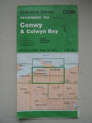 Pathfinder Maps: Conwy and Colwyn Bay Sh... by Ordnance Survey Sheet map, folded