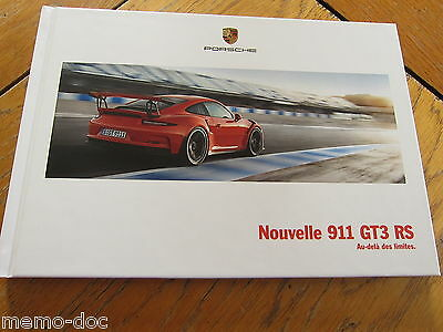 Brochure  PORSCHE 911 GT3 RS 03/2015  : catalogue cartonné 92 p. FR