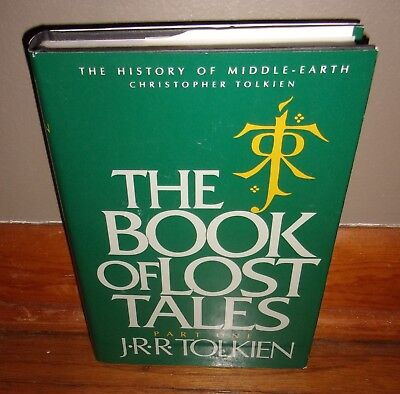 THE BOOK OF LOST TALES-Part One-History of Middle-Earth-TOLKIEN-1st NEW hc w/dj!