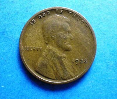 *1923-s* Lincoln Head Cent vg-f scarce    free shipping