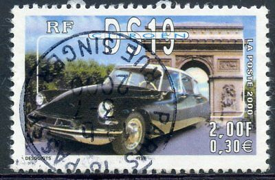 Stamp / Timbre France Oblitere N° 3325 Voiture / Citroen Ds19