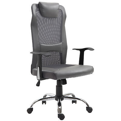 Vinsetto High Back Mesh Office Chair Swivel Computer Desk Task Executive Seat