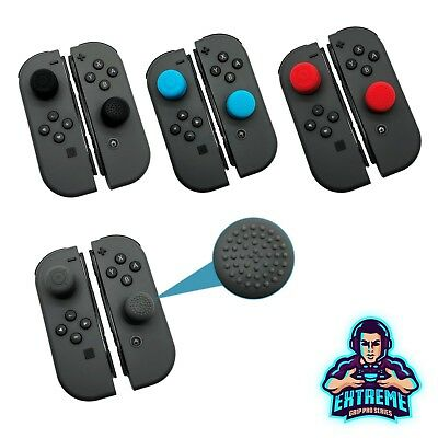 EGP© Analog Thumb Stick Cover Grip Extenders for Nintendo Switch Joy-Con Control