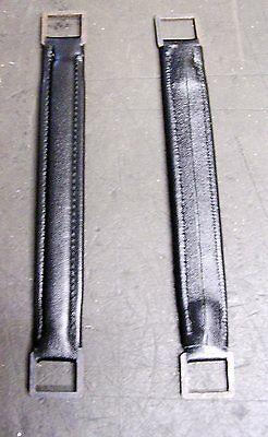 Hmv 102- 101 Portable Gramophone Handle New Made Black Strapp Made In Leather
