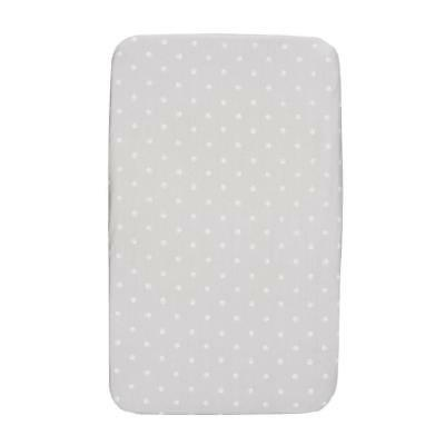 Chicco Fitted Sheets Crib Set - Next2Me & Lullago (Silver) *ACTUAL*