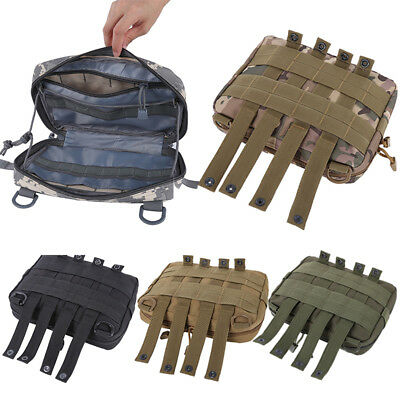 Outdoor Military CQC Molle Medical Pouch Bag Belt Waist Pack EDC Pouch Bag