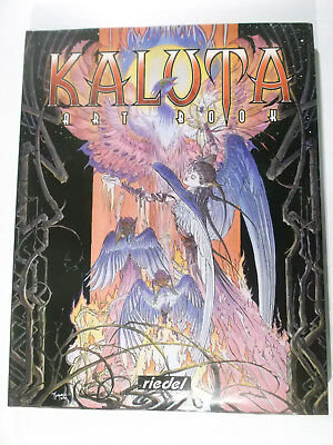 Artbook  KALUTA ( Riedel Hardcover ) Zustand 1