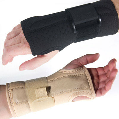 Breathable Carpel Tunnel Wrist Splint Support Brace for Pain Relief