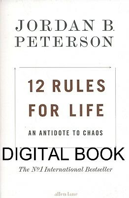 12 Rules For Life by Jordan B Peterson ( E Book )