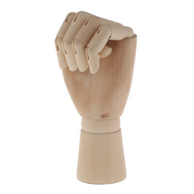 Wood Mannequin Hand Sectioned Articulated Flexible Fingers Manikin