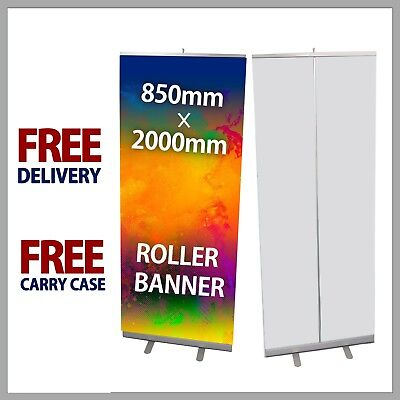 Roller Banner Printed Pull Pop UP banner Exhibition Dispaly 85cm x 200cm