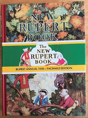 RUPERT BEAR FACSIMILE 1938 WITH PRICE BAND No 1004 LIMITED EDITION SUPERB!