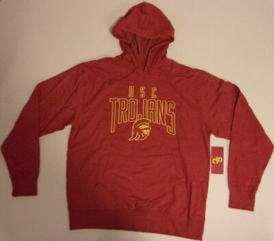 ea586283bc4 New USC Trojans Southern California men s large L hoodie jacket sweatshirt