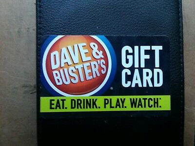 20$ Dave and buster gift card