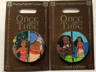 Disneyland Park 2018 Moana Once Upon a Time Disney LE Pin