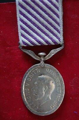 Full Size Silver George V Distinguished Flying Medal  .dfm.