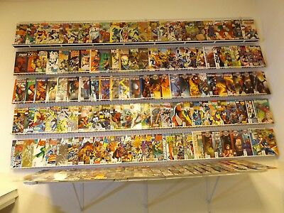 Huge Lot of 160+ Comics W/Spiderman,Wolverine, Avengers+MORE Avg VF-NM Condition