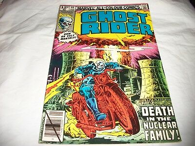 1980  Marvel comic  Ghost Rider vol. 1 no. 40