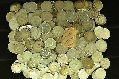 Lot of 20 Collectible Silver Ben Franklin Half-Dollars $10 Face Value (BFHD.4)