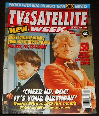 TV & Satellite Week Doctor Who 30th Anniversary Cover 1993