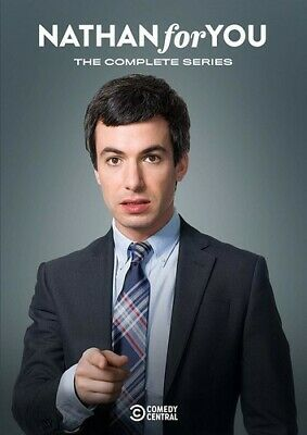 Nathan For You: Complete Series (REGION 1 DVD New)