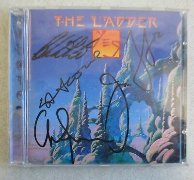 Signed 1999 Yes -The Ladder Cd Beyond Music 63985780464 Jon Anderson