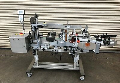 CVC 400 Inline Pressure Sensitive Bottle Labeler