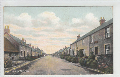 Leitholm Village Berwickshire Pre 1918 Gibson Coldstream GWG Series Old Postcard