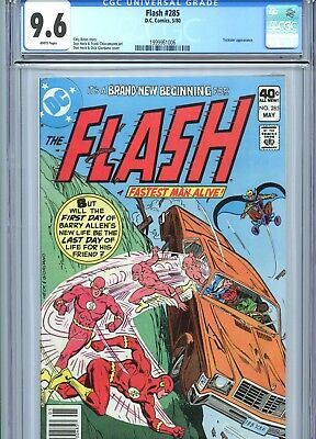 Flash #285 CGC 9.6 White Pages DC Comics 1980