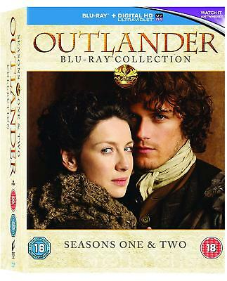 Outlander Season 1 + 2 Collection [Blu-ray Box Set Region Free TV Series] NEW