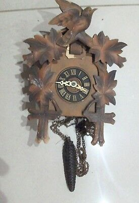 Vintage Cuckoo Clock - Sold for Spares/Restoration
