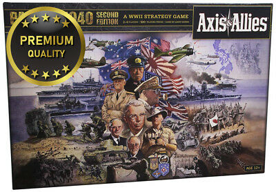 Avalon Hill A06260000 Axis and Allies Pacific 1940 Second Edition Board Game