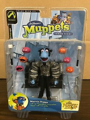 Palisades Toys Jim Henson Muppets Series Eight Marvin Suggs Silver Shirt New
