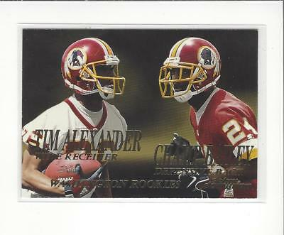 1999 SkyBox Dominion #237 Tim Alexander/Champ Bailey RC Rookie Redskins