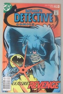 Batman Detective Comics #474 Dc Comics 1St Appearance Of New Deadshot 1977