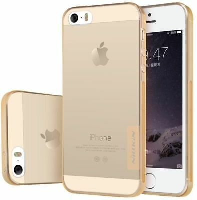 Luxury Slim Shockproof Silicone Gold protecting Case Cover for iPhone SE 5 & 5s
